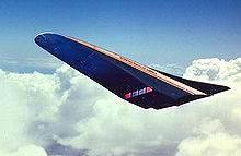Airplane Picture - Artist's Concept of the X-30 on reentry