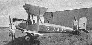 Blackburn Bluebird IV Airplane