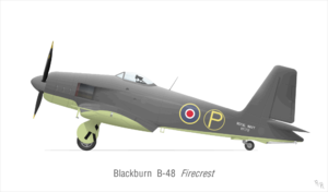 Warbird Picture - Firecrest prototype VF172