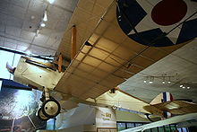 Airplane Picture - The DH-4B on display at the National Museum of the United States Air Force.