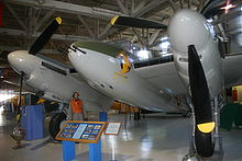 Airplane Picture - de Havilland Mosquito B 35 (reconfigured to a FB Mk.VI, on display at the Alberta Aviation Museum)