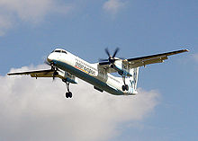 Airplane Picture - Bombardier (de Havilland Canada) Dash 8 of Flybe