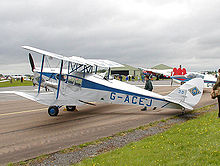 Airplane Picture - de Havilland DH 83 Fox Moth