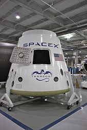 Airplane Picture - SpaceX Dragon
