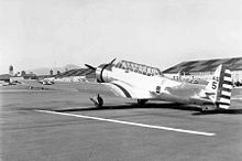 Airplane Picture - Vultee YA-19 No.5, 17th Attack Group, March Field, California, 12 September 1939