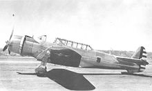 Airplane Picture - Vultee YA-19 during tests