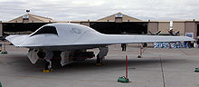 Airplane Picture - X-45C from the side