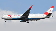 Airplane Picture - Austrian Airlines 767-300ER with blended winglets