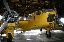 Airplane Picture - Bolingbroke IVT in the Commonwealth Air Training Plan Museum, Brandon, Manitoba