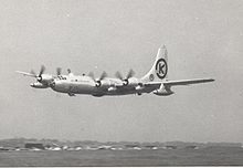 Airplane Picture - Boeing B-50D of 15th Air Force while on detachment to England in May 1953