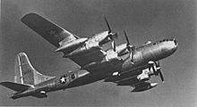 Airplane Picture - B-50D-90-BO 48-086 with R-4360 engine differences visible