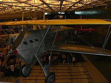 Airplane Picture - A Boeing FB-5 preserved at the Steven F. Udvar-Hazy Center