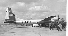 Airplane Picture - Boeing WB-50D of 53rd Weather Squadron at RAF Burtonwood in May 1957