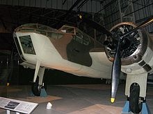 Airplane Picture - Bristol Blenheim bomber at the RAF Museum, London