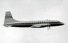 Airplane Picture - The prototype Britannia 101 G-ALBO in BOAC markings at the 1953 Farnborough Air Show