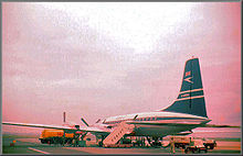 Airplane Picture - BOAC Bristol Britannia Model 102 G-ANBA, c. 1959