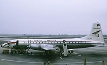 Airplane Picture - Cubana de Aviacion Britannia 318 at Lima Peru in 1972