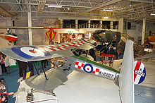 Airplane Picture - A Bristol Bulldog preserved at the RAF Museum, Hendon