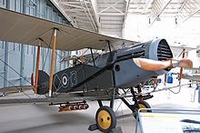 Airplane Picture - A Bristol F.2 Fighter preserved at the Imperial War Museum Duxford