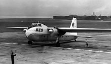 Airplane Picture - Bristol Freighter, Liverpool 1961