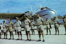 Airplane Picture - A 41 Squadron RNZAF Bristol Freighter in Thailand, 1962.