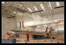 Airplane Picture - Bristol 188 at the RAF Museum, Cosford.