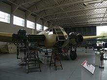 Airplane Picture - Blenheim Mk I at the Imperial War Museum Duxford.