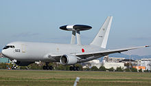 Airplane Picture - Japan Self-Defense Forces E-767 AWACS