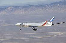 Airplane Picture - X-48B on its first flight