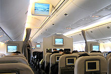 Airplane Picture - 767-300ER economy cabin with Boeing Signature Interior