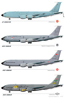 Airplane Picture - Active KC-135 paint schemes