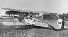 Airplane Picture - The actual Scout C, RFC serial no. 1611, flown by Lanoe Hawker on July 25, 1915 in his Victoria Cross-earning engagement.