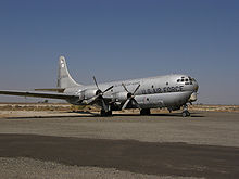 Airplane Picture - Former California Air National Guard C-97G at the Milestones of Flight Museum, Fox Field, Lancaster, California