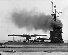 Airplane Picture - TDN-1 aircraft aboard USS Sable.