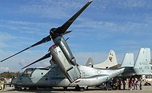 Airplane Picture - MV-22 on display at NAS Pensacola, November 2006