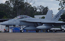 Airplane Picture - A RAAF F/A-18F shortly after it first arrived in Australia