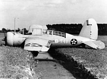 Airplane Picture - A SBN-1 of VT-8 at Norfolk in 1941