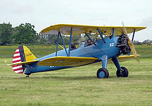 Airplane Picture - Boeing Stearman E75 (PT-13D) of 1944.