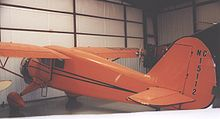 Airplane Picture - SR-6 Reliant at the Historic Aircraft Restoration Museum, Dauster Field, Missouri in 2006