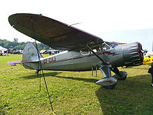 Airplane Picture - Stinson V77 Reliant