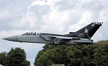 Airplane Picture - RAF 43 Sqn (ZE887) Tornado F3 takes off at Kemble Air Day 2008