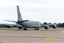 Airplane Picture - 916th Air Refueling Wing KC-135R of the Air Force Reserve Command (AFRC) taxis for take off