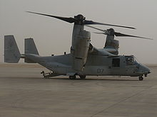 Airplane Picture - An MV-22 of VMM-162 in Iraq, April 2008