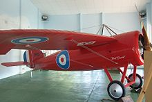 Airplane Picture - Captain Harry Butler's Bristol monoplane on display in Minlaton, South Australia