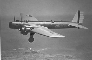 Warbird Picture - Y1B-9 test flight, 1932.