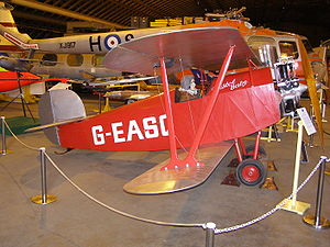 Warbird Picture - Replica of the Babe I