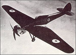 Warbird Picture - The Type 138A over Farnborough c. 1937