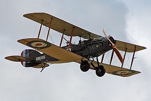 Warbird Picture - The Shuttleworth Collection's Bristol F.2B Fighter