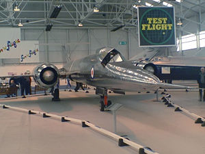 Warbird Picture - Bristol 188 at the RAF Museum, Cosford.