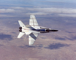 Warbird Picture - F/A-18 configured by NASA as the X-53